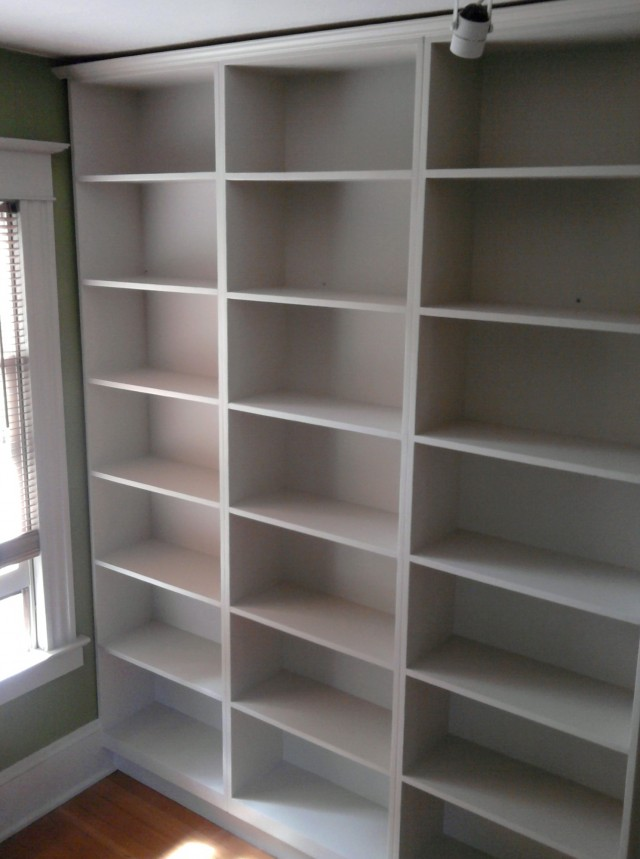 Built In Bookshelves Cost