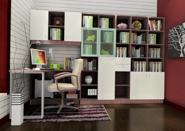 Built In Bookshelves Decorating Ideas