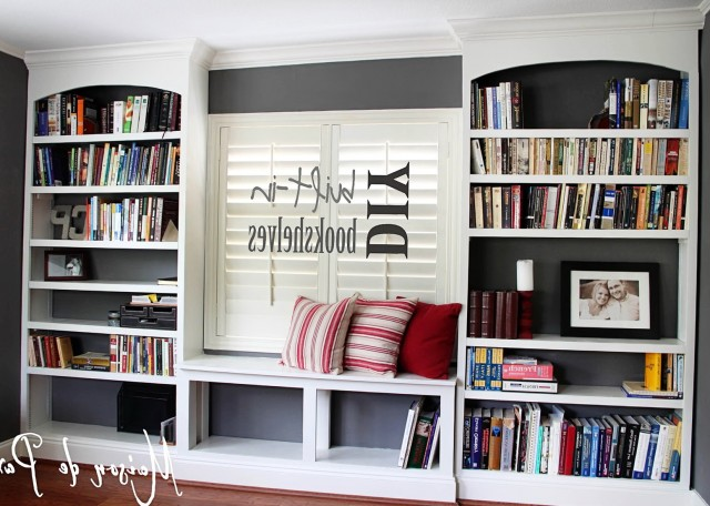 Built In Bookshelves Diy