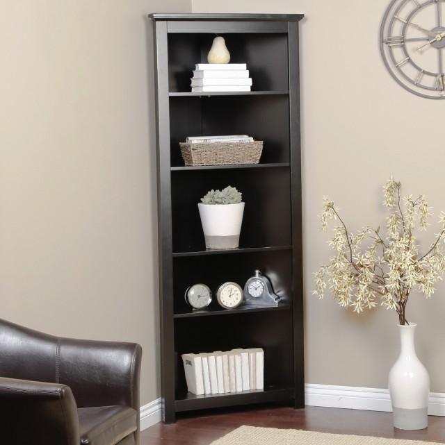 Corner Bookshelf Unit