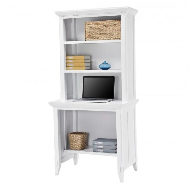 Desk With Bookcase Hutch