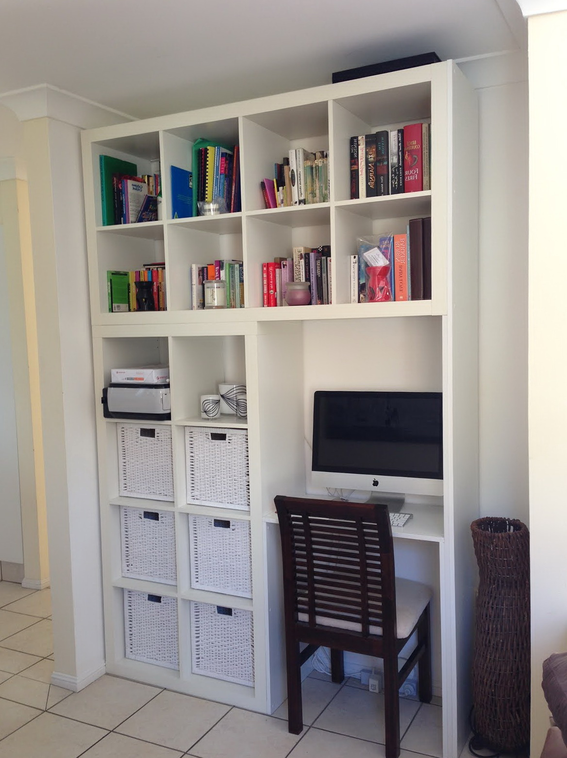 Desk With Bookcase Ikea