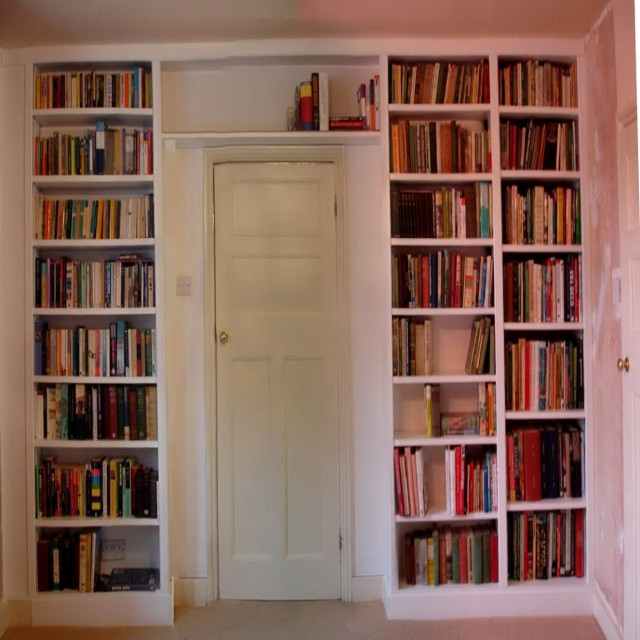 Floor To Ceiling Bookcase For Sale