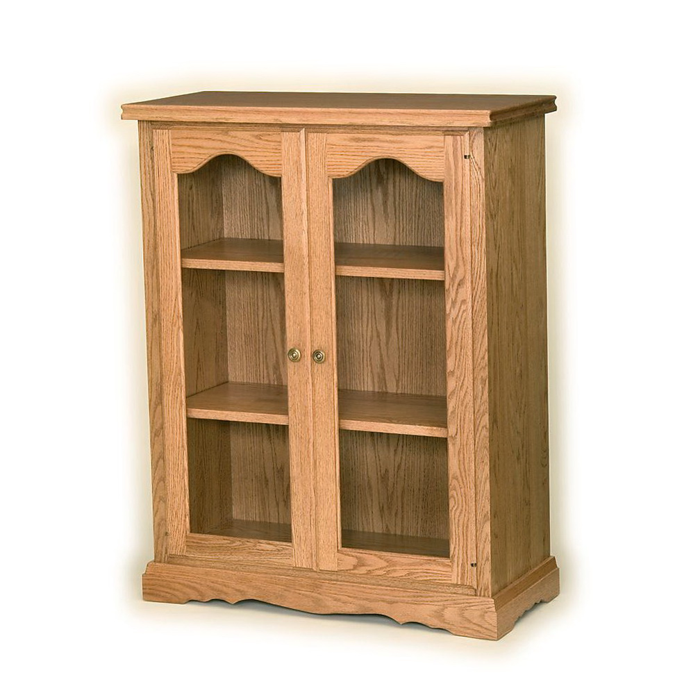 Glass Bookcases With Doors