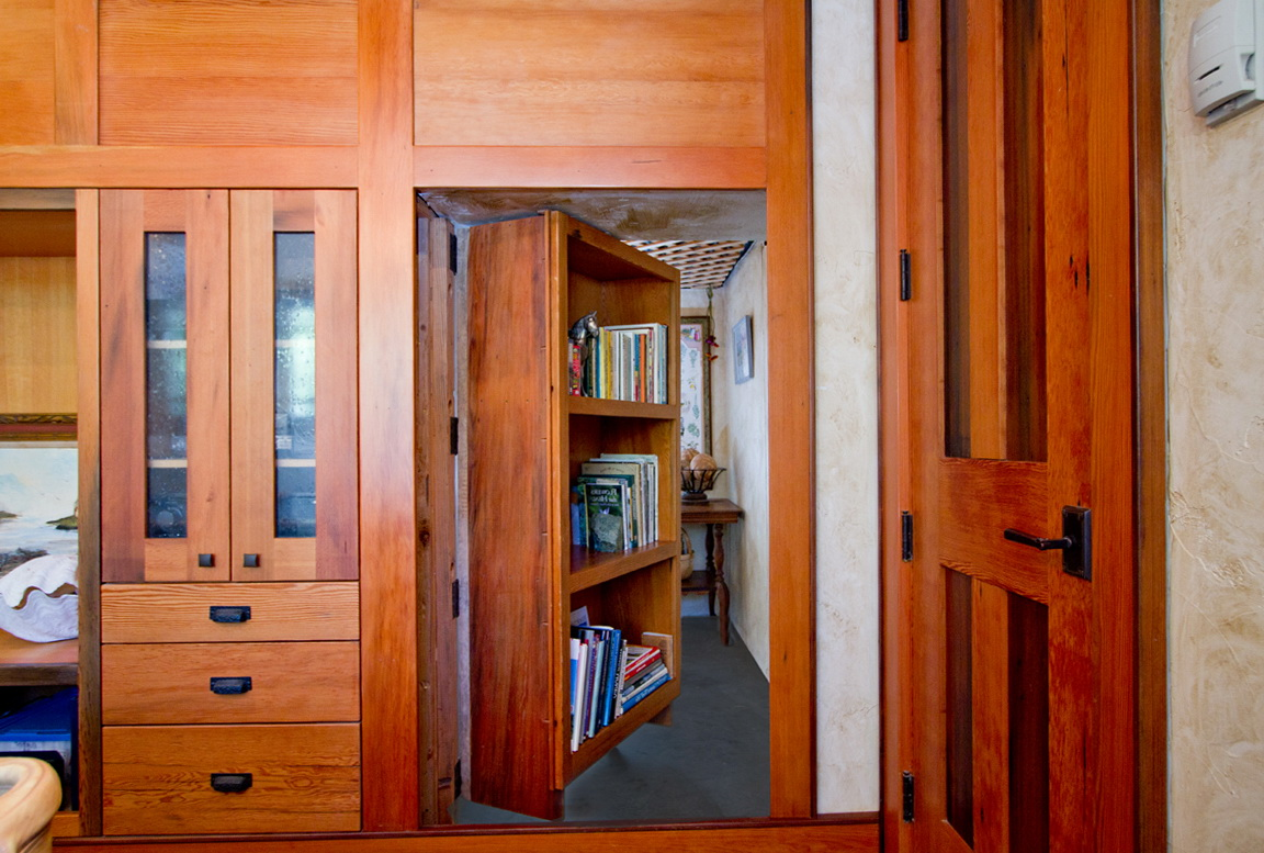 Hidden Bookcase Door Plans
