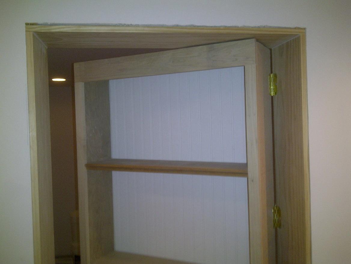 Hidden Bookcase Door Sims 4
