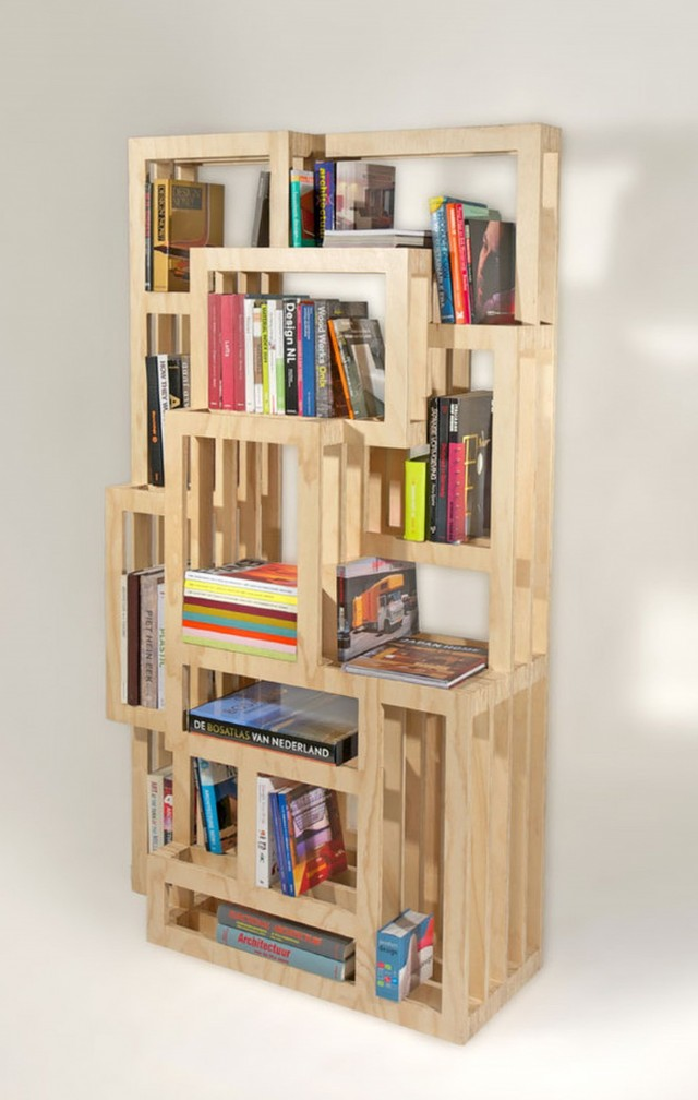 Homemade Bookshelf For Kids