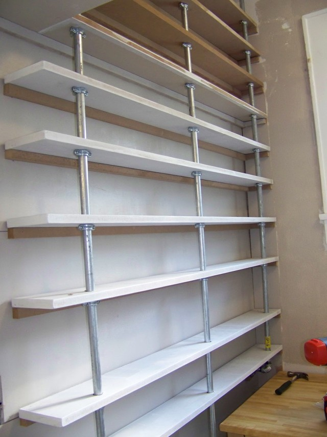 How To Build Floor To Ceiling Bookshelves