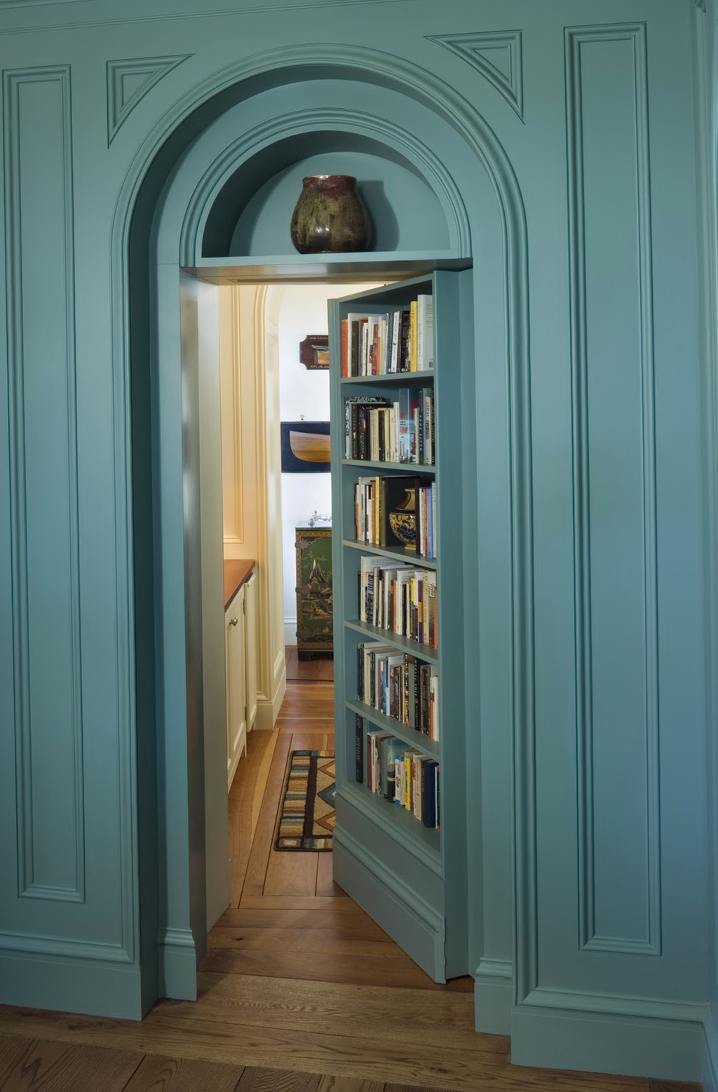 How To Make A Hidden Door Bookcase