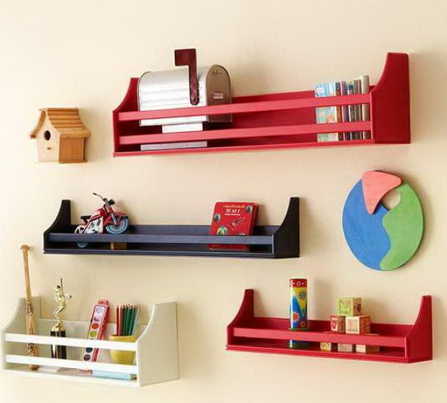 Kids Bookshelf Wall