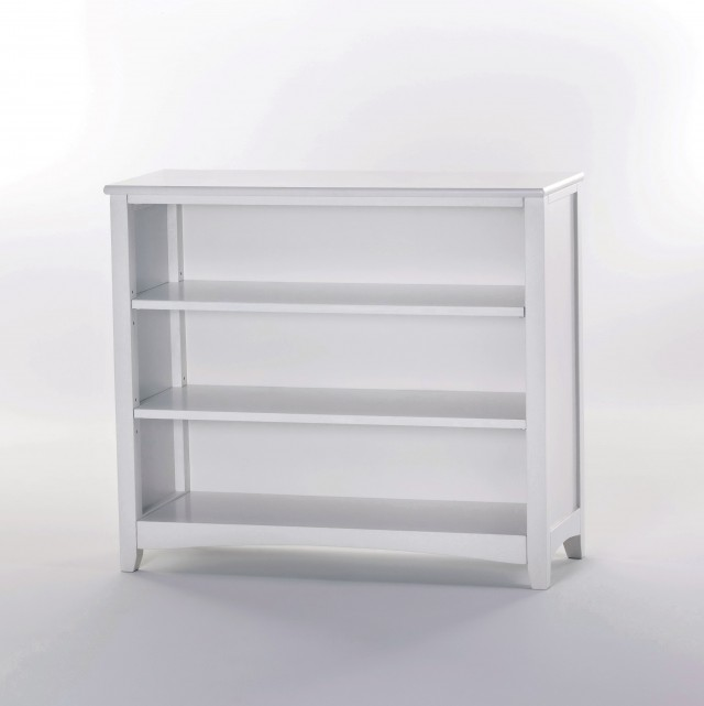 Kids White Book Shelf