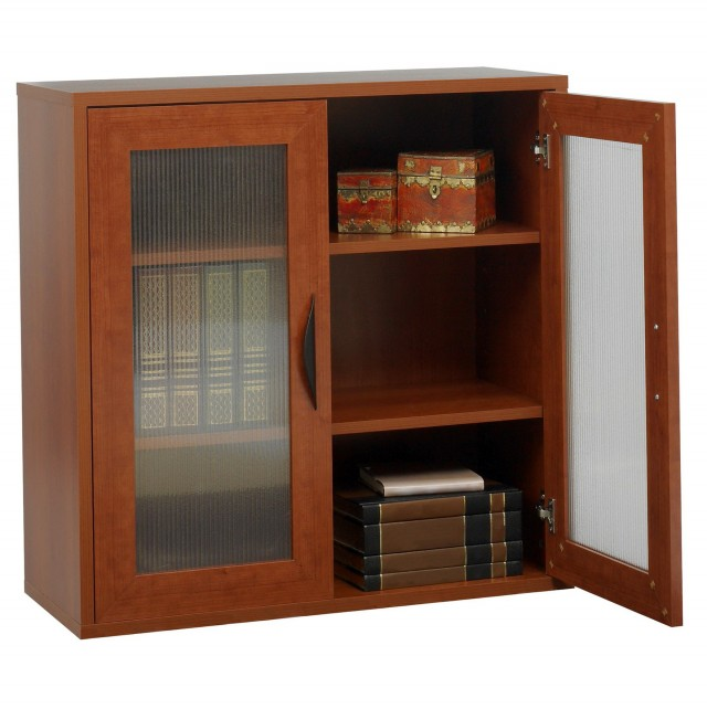 Low Bookshelves With Doors