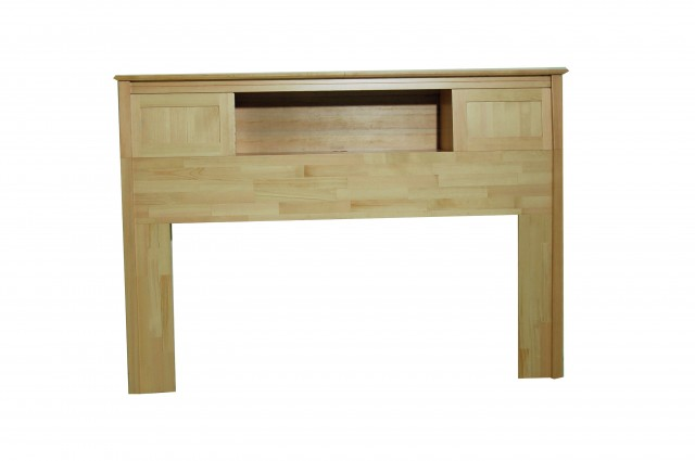 Queen Bookcase Headboard Solid Wood