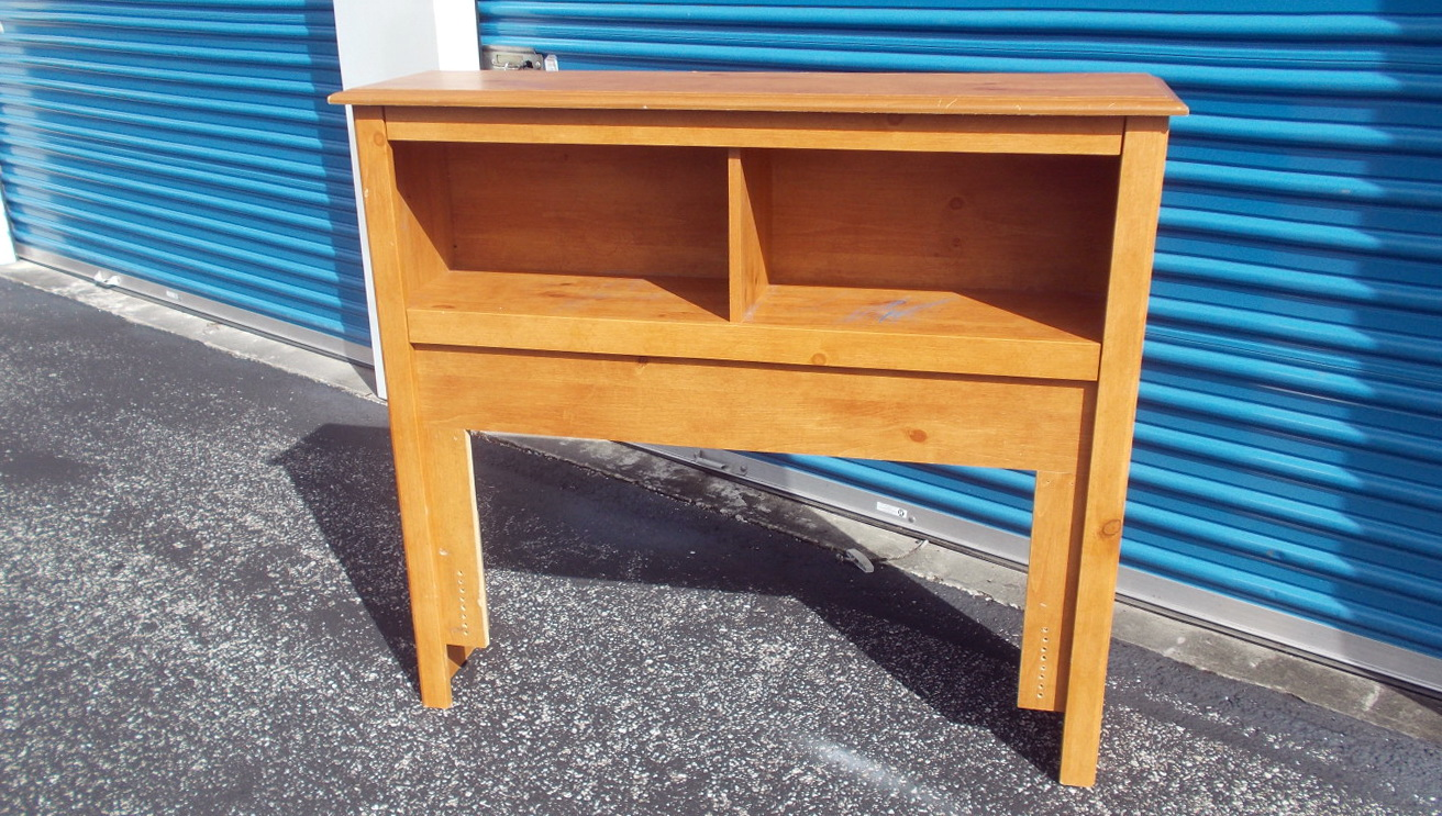 Real Wood Bookcase Headboards