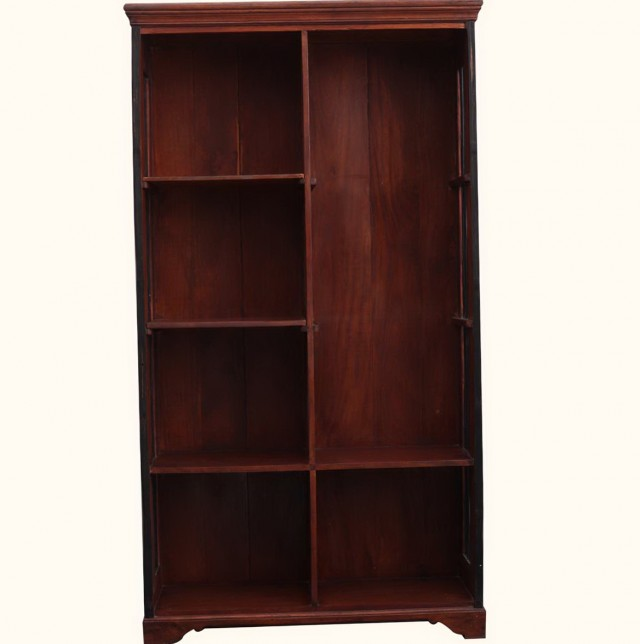 Solid Wood Bookcases With Adjustable Shelves