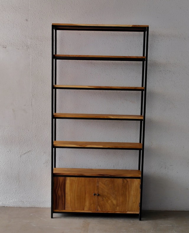Solid Wood Bookshelf Singapore
