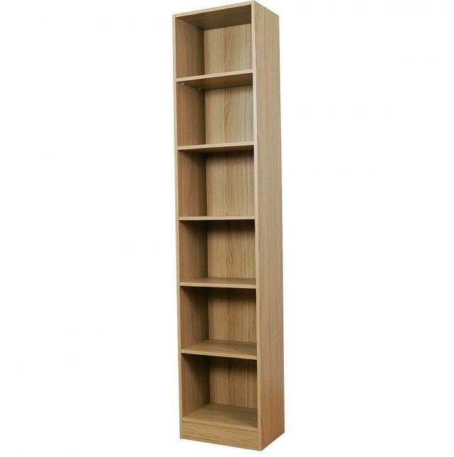 Tall Narrow Bookcase Walmart