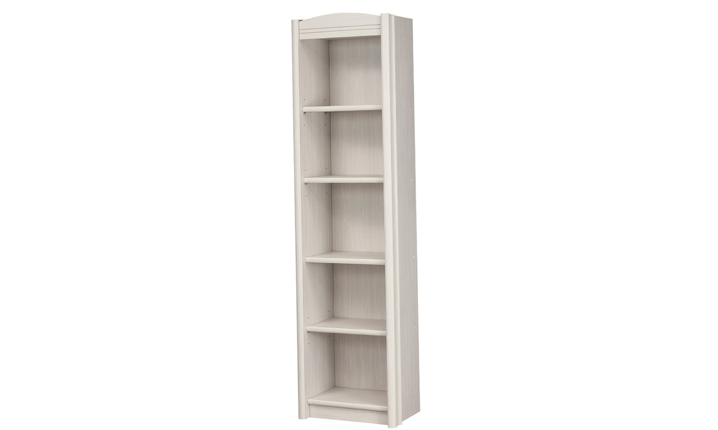 Tall Narrow Bookcase White
