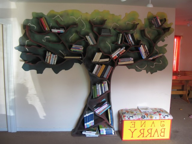 Tree Bookshelf For Kids