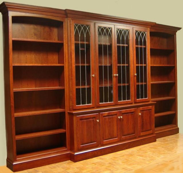 Wall Bookshelves With Doors