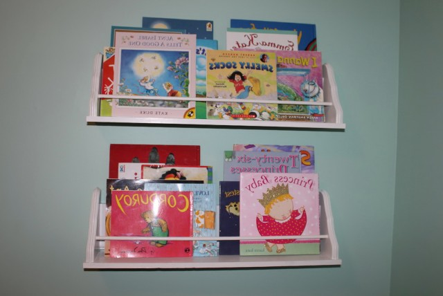 Wall Mount Bookshelf Kids