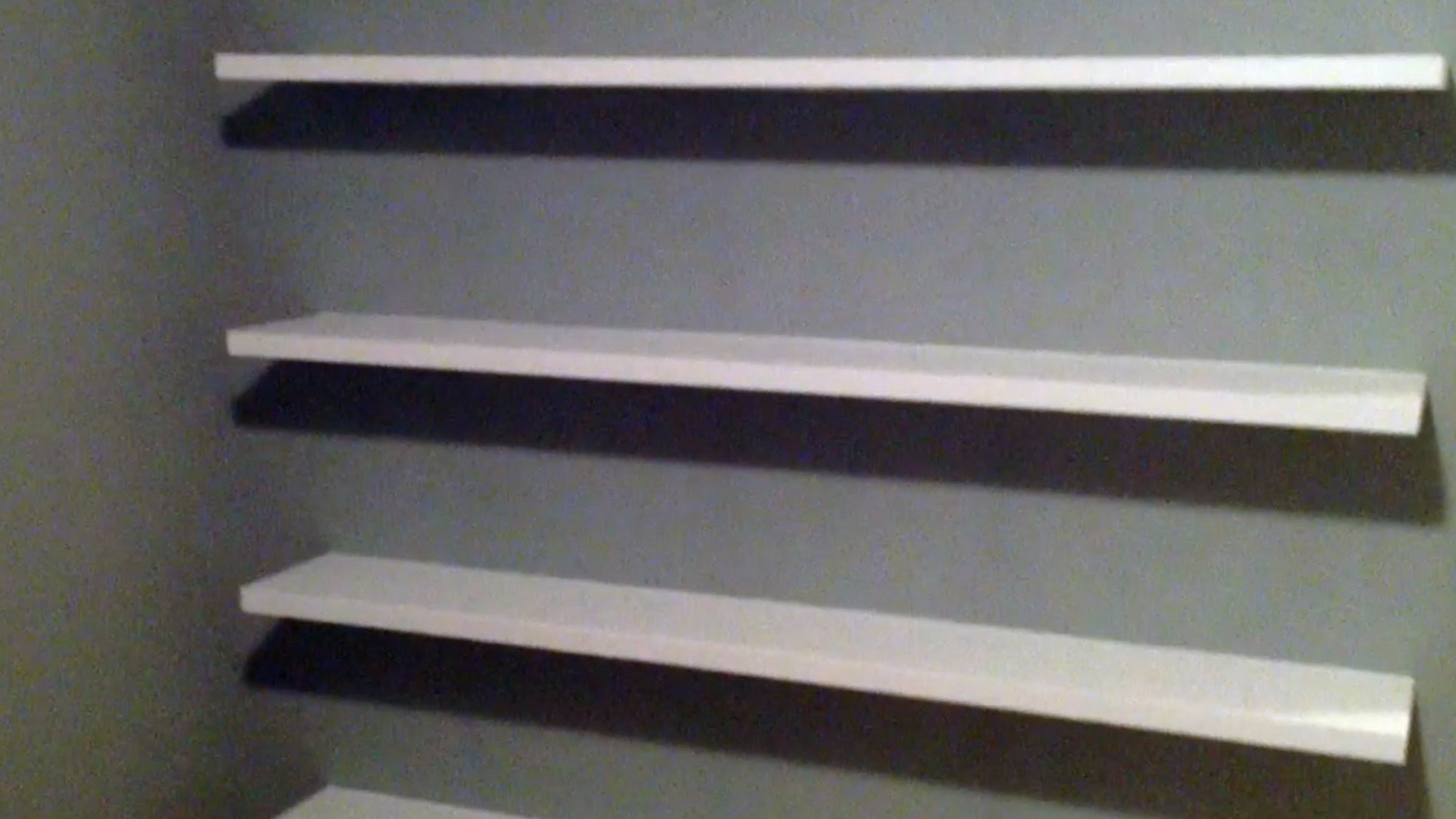 Wall Mounted Bookcase Diy