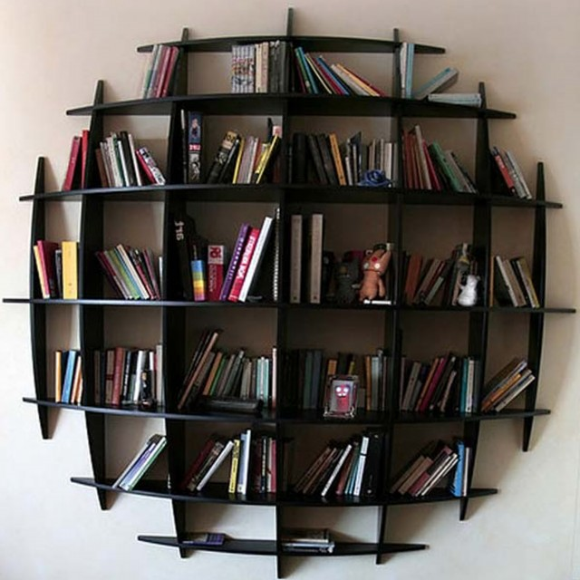 Wall Mounted Bookshelf Designs