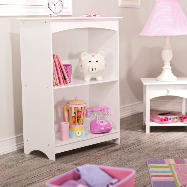 White Kids Book Shelf