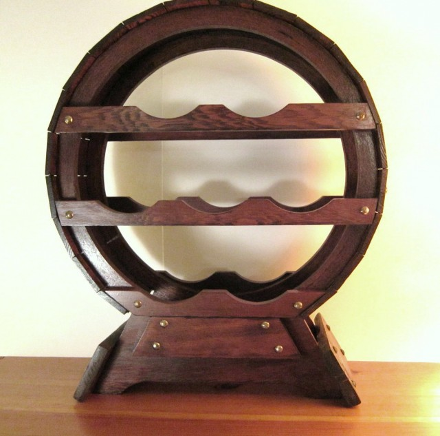 Amazon Wine Rack Wooden