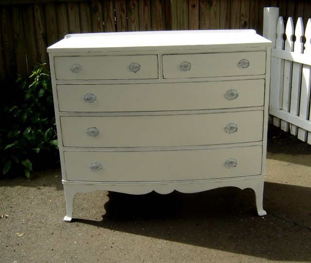 Antique White Dresser For Sale