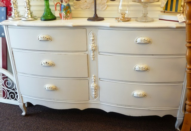 Antique White Dresser Pulls