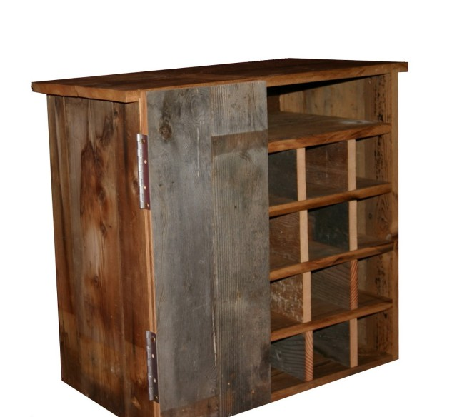 Barn Wood Wine Racks