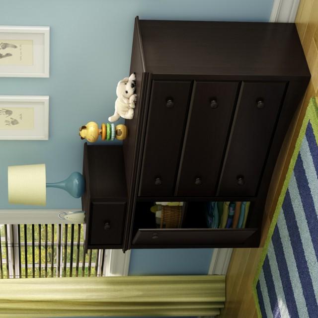 Bassett Changing Table Dresser Combo