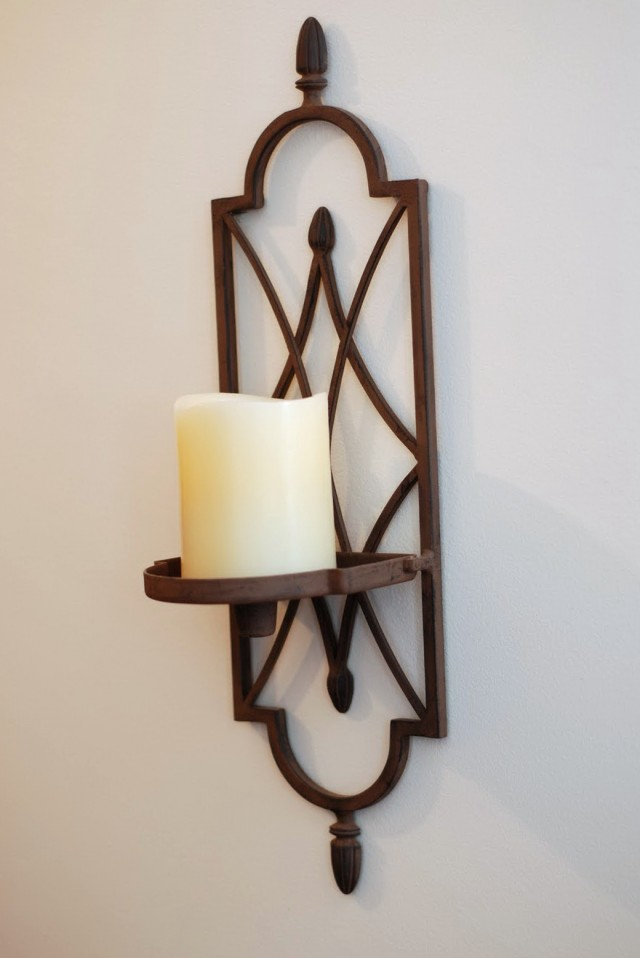 Bathroom Candle Wall Sconces