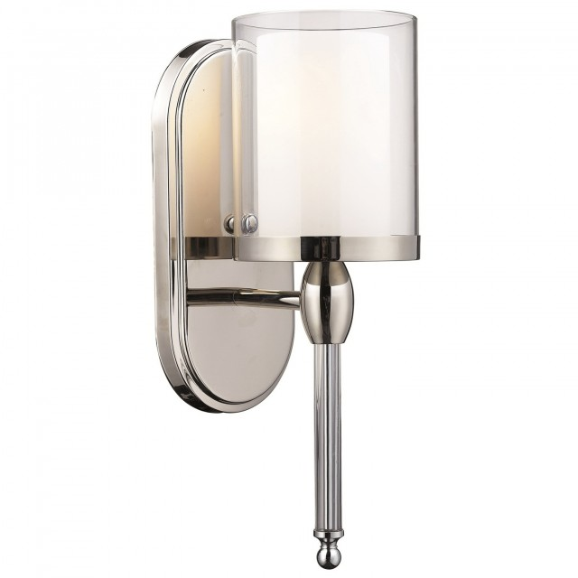 Bathroom Wall Sconce With Electrical Outlet