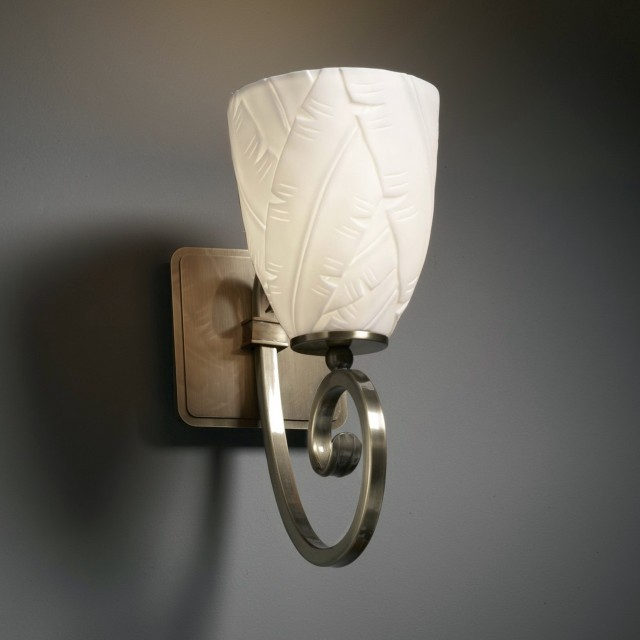Bathroom Wall Sconces With Shades