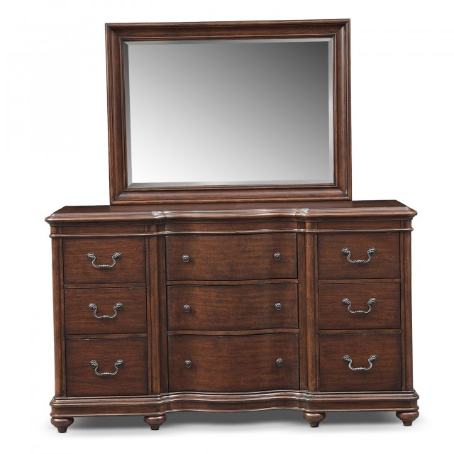 Bedroom Furniture Dresser With Mirror