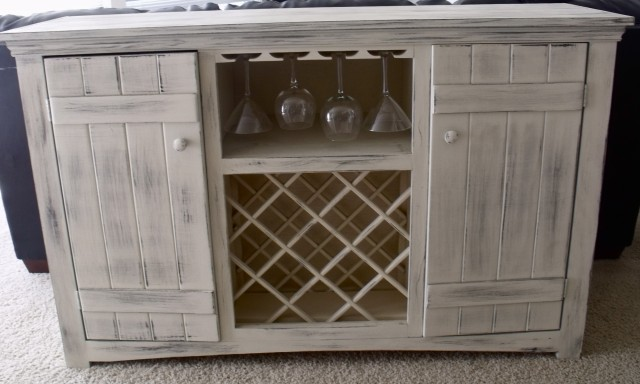 Buffet With Wine Rack Furniture