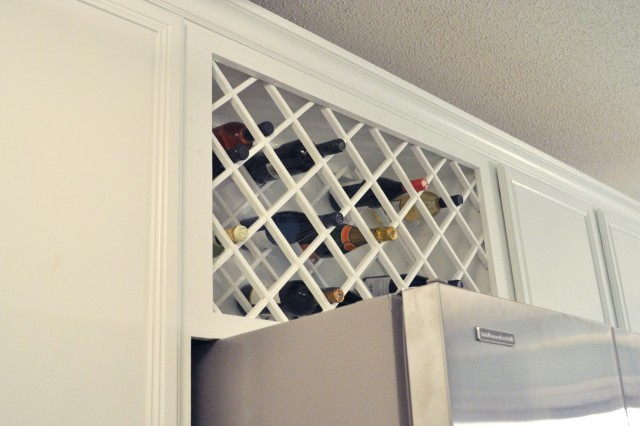 Build Wine Rack Insert