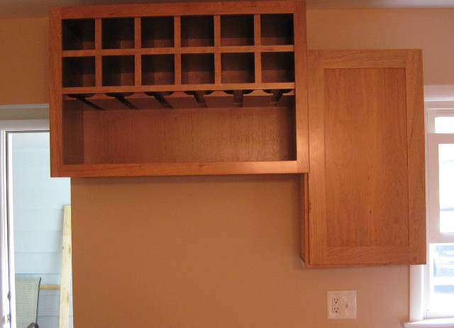 Built In Wine Rack Kitchen Cabinet