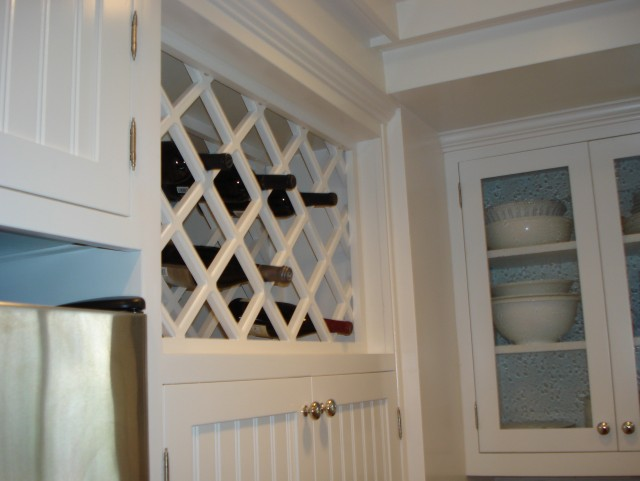 Built In Wine Racks Kitchen