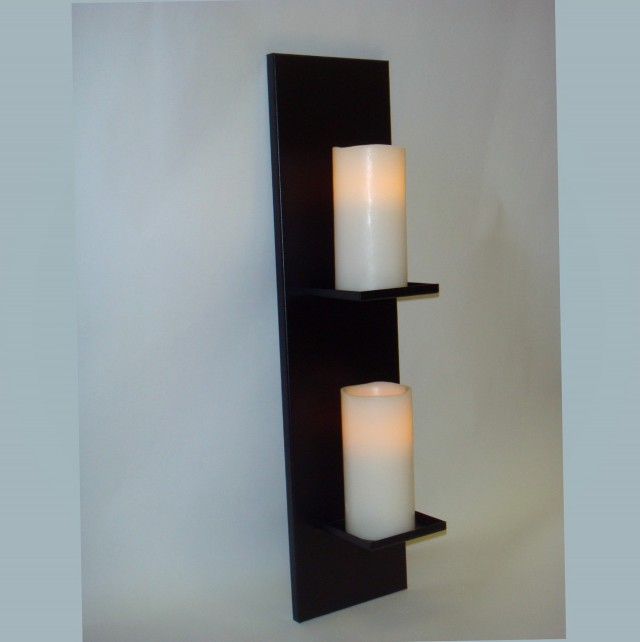 Candle Wall Sconces Silver