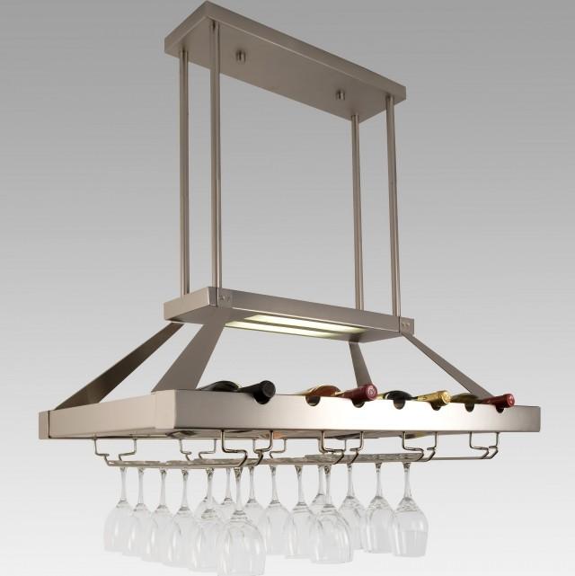 Ceiling Hanging Wine Rack