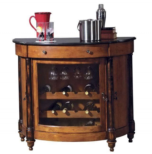Corner Wine Rack Cabinet