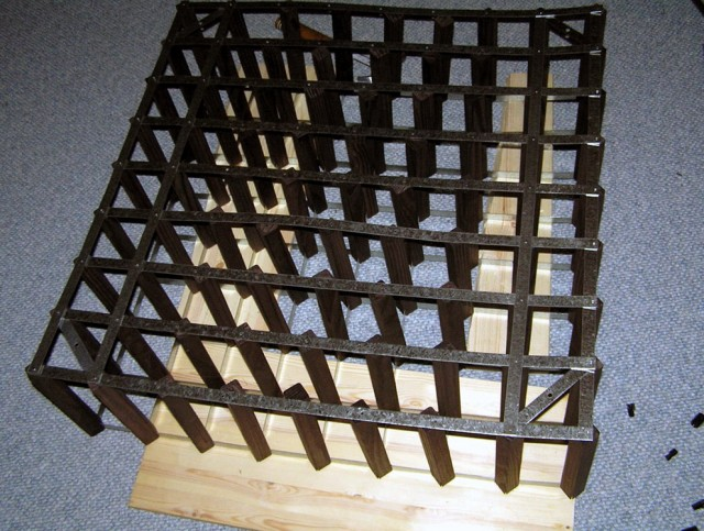 Diy Lattice Wine Rack