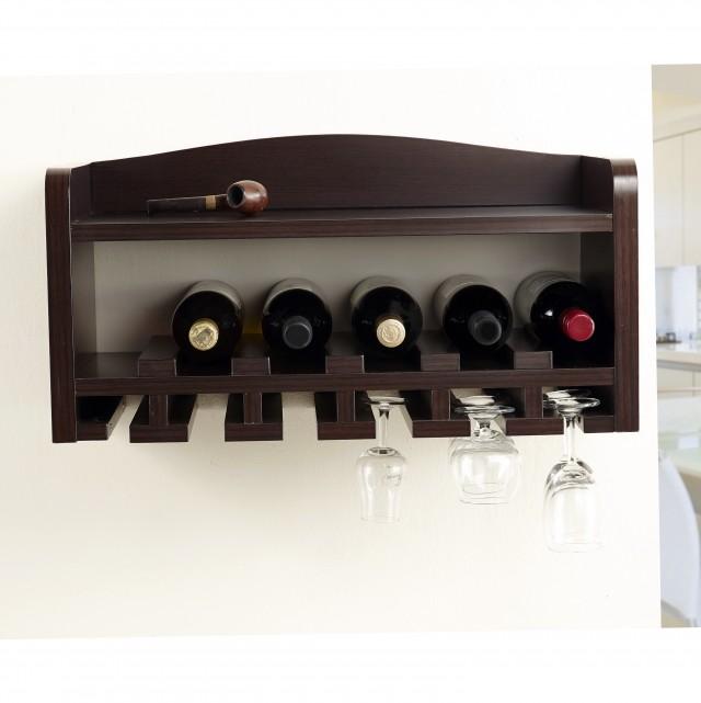 Diy Wall Mounted Wine Rack