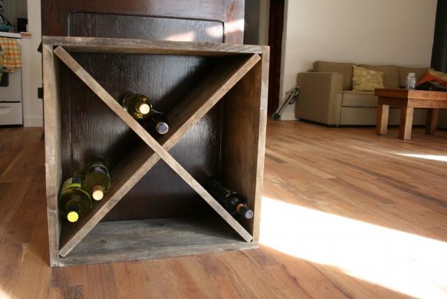 Diy Wine Rack Easy