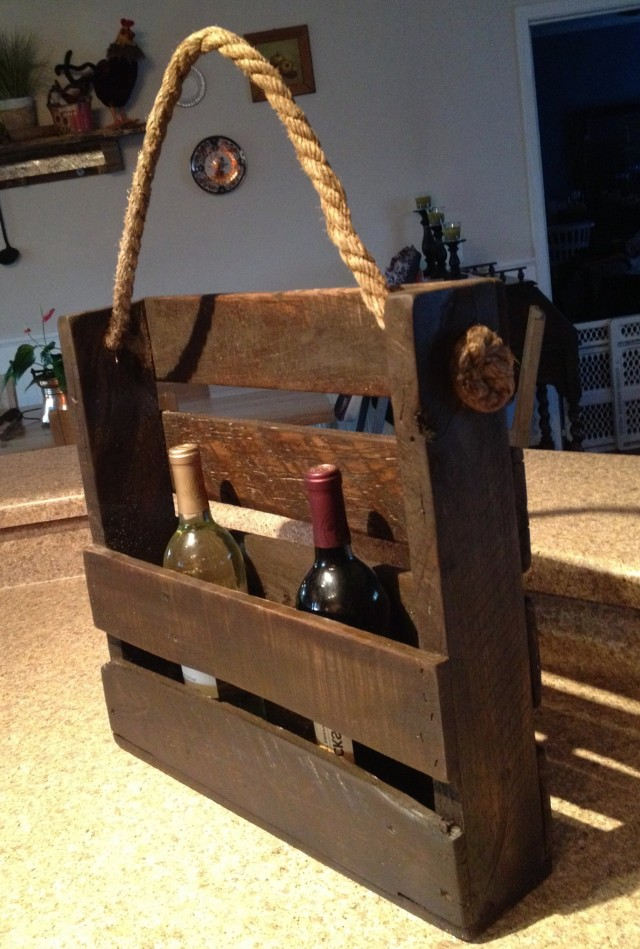 Diy Wine Rack Pinterest