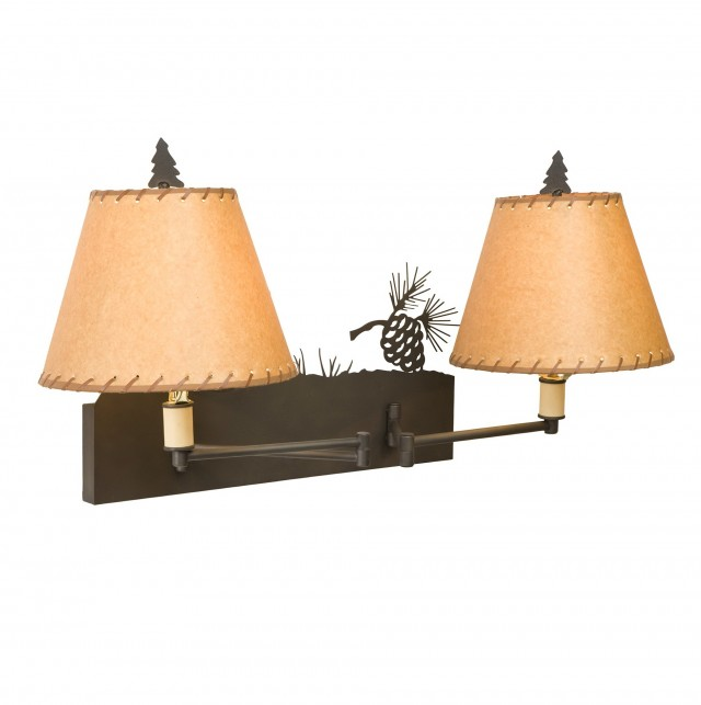 Double Swing Arm Wall Sconce