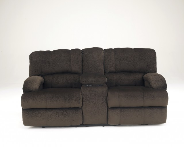 Dual Reclining Loveseat With Console Slipcover